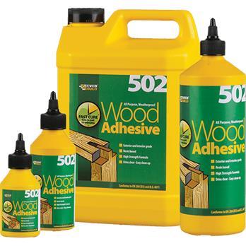 502 Wood Adhesive 500ml Ac Sissling