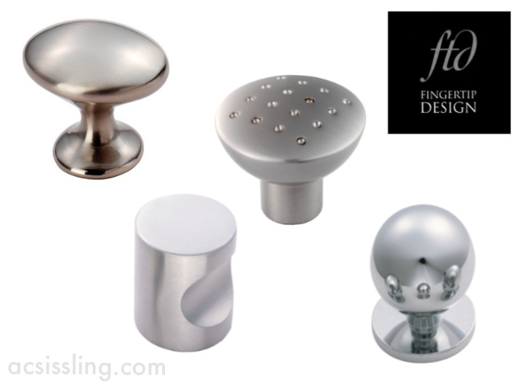 FTD Contemporary Cabinet Knobs