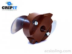 GRIPIT Type 20-2 Fixing BROWN 160kg 20mm M6
