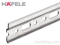 Hafele 290.10.900 Cabinet Wall Hanger Rail 2032mm Lengths