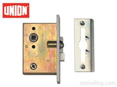 Union 2D WATERLOO Mortice Bathroom Lock
