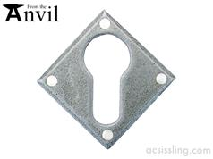 From The Anvil 33622 Diamond Euro Escutcheon Pewter