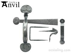 From The Anvil 33649 Medium Bean Thumblatch Pewter