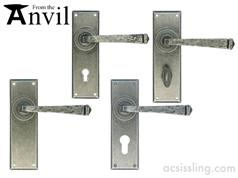 From The Anvil Avon Lever Handles 57mm centre PEWTER  33700  33701  33702  3