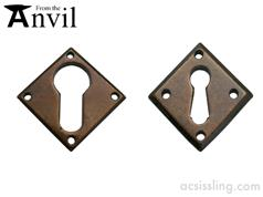 From The Anvil  Diamond Escutcheon Bronze 33946  33948