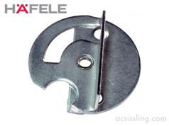 Hafele 642.49.243 Table Top Swivel Connector