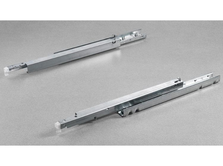 Salice A65579 SHELF PUSH To Open Concealed Undermount Shelf Runners (Full Extension)