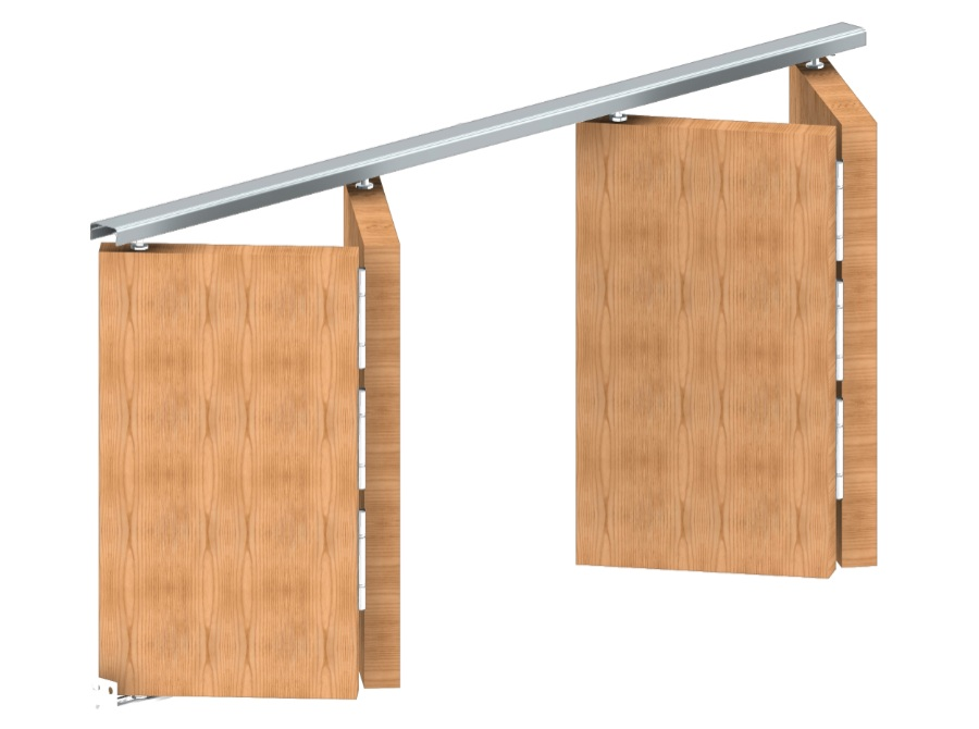 Rothley APOLLO Folding Door Kits 14kg Top Guided System