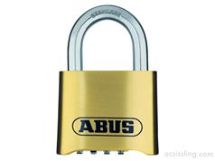 Abus 180IB Resettable Combination Brass Padlock 50mm