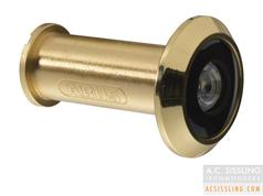 Abus 2200 Gold Door Viewer 220 Degree Viewing Angle