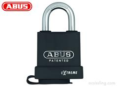 ABUS 83WP Series Open Shackle Weatherproof Padlocks.