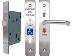 Morgan ACL500 Disabled Lockset SSS D/H ( NKS / RADAR Ket Scheme )