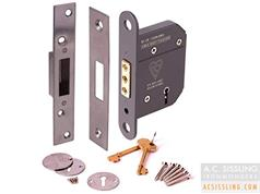 Securit 5L BS Mortice Deadlocks Kitemarked BS3621 (Direct Replacement for Era Fortress & Union Strongbolt Deadlocks)