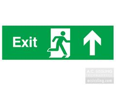 Exit / Running Man/ Arrow Up Signs