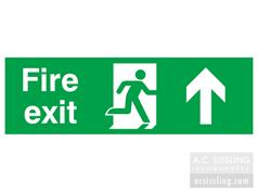 Fire Exit / Running Man/ Arrow Up Signs