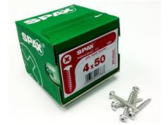 SPAX SCREWS Pan Head Zinc Plated Pozi Woodscrews