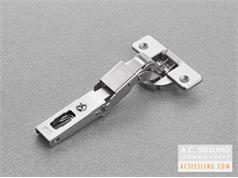 CBA2A99 Special Sprung Hinge 0mm Crank 35mm Cup 110d Opening for Moulded Edge Profiles or Half-Rebated