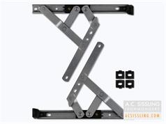 CHAMELEON Adaptable Friction Stay Hinges Side Hung & Top Hung 13mm or 17mm Stack Height