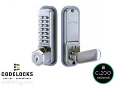 CODELOCK CL255 Key Overide Hold Open