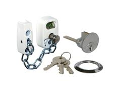 SECUREFAST Security Door Chain with External Emergency Release