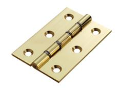 Double Stainless Steel Washerd Brass Butts