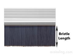 EXITEX Brush Draught Strips 914mm Lengths