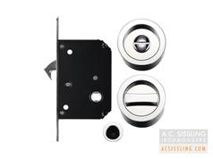 Fulton & Bray FB81 Mortice Sliding Door Flush Privacy Locksets