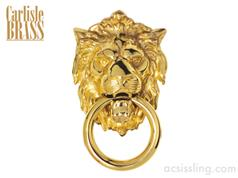 Carlisle FG8C Lion's Head Door Knocker 230mm