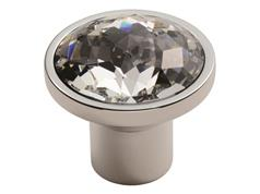 ** NEW** Fingertip FTD770 Round Facetted Crystal Cabinet Knobs