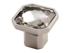 **NEW** Fingertip FTD790 Square Facetted Crystal Cabinet Knobs