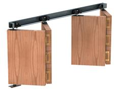 Rothley HERKULES-PLUS Folding Door Kits 40kg Top Hung System