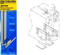 Coburn JASON Cupboard Sliding Door Kits 25kg Bottom Rolling System