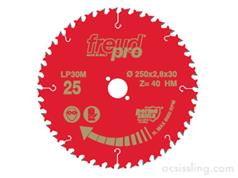 Freud-Pro LP30M Series TCT Medium Blades for Portable Machines (Along & Cross Grain Cutting)