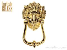 Carlisle MB10 Old English Lion Head No10 Pattern Door Knocker