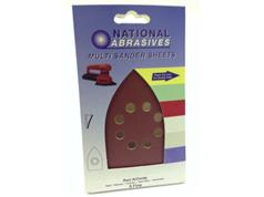 Red Aluminium/Oxide Multi Brand Sander Sheets