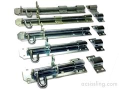 1A Wide Pattern Padbolts (Padlockable)
