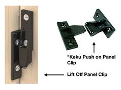 'Keku' Type Secret Fix Panel Clips