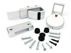 Aluminium Cubicle Fittings