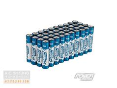 PowerMaster AAA LR03 Super Alkaline Batteries 40-Pack
