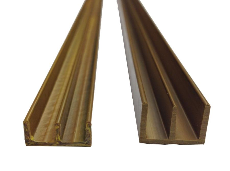 Double Top Channel 6mm White Upvc 183m Ac Sissling