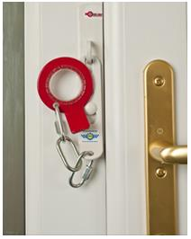 SECURE RING Door Chains for uPVC and Composite Doors (Secured By Design) & SECURE RING Sidelight RH Door Chain White - AC Sissling