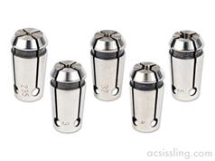 Proxxon 5-Piece Collet Set for PF230 and FF230  474685 / 24144