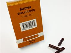 THORSMAN TPA2B Brown Economy Wall Plug