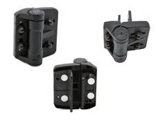 D&D Technologies MINI MULTI Adjustable Wood, Vinyl & Metal Gate Hinges (2 Legs) Ref TCAMA1