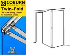 Coburn TWINFOLD Bi-Fold Door Kits 15kg Bottom Pivoted Top Guided System