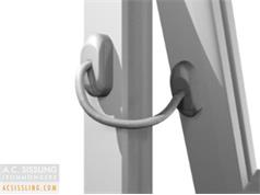 UAP Fixed Cable Window Restrictors
