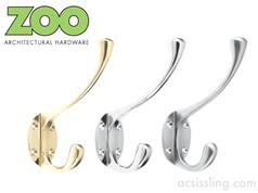 Zoo ZAB79 Series Heavy Hat & Coat Hooks