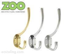 Zoo ZAB80 Series Light Hat & Coat Hooks
