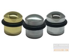 Zoo ZAB86 Domed Floor Mounted Round Door Stops