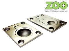 Zoo ZAS42 / ZAS43 Series Stainless Rectangular Flush Pulls